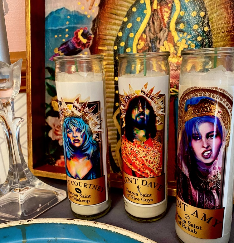 church of the holy vinyl disc devotional candles